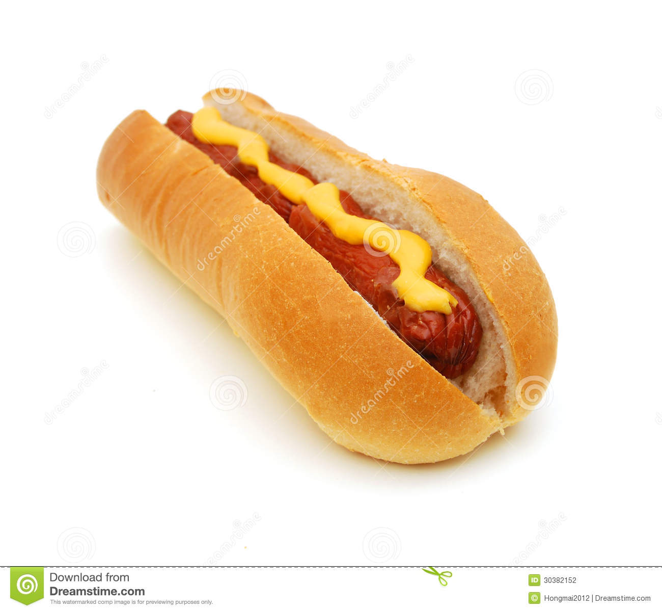 Hot Dog Stock Photography - Image: 30382152