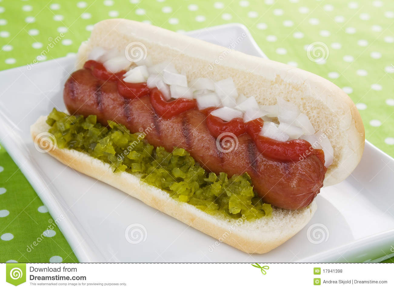 Hot Dog Pickle Bun