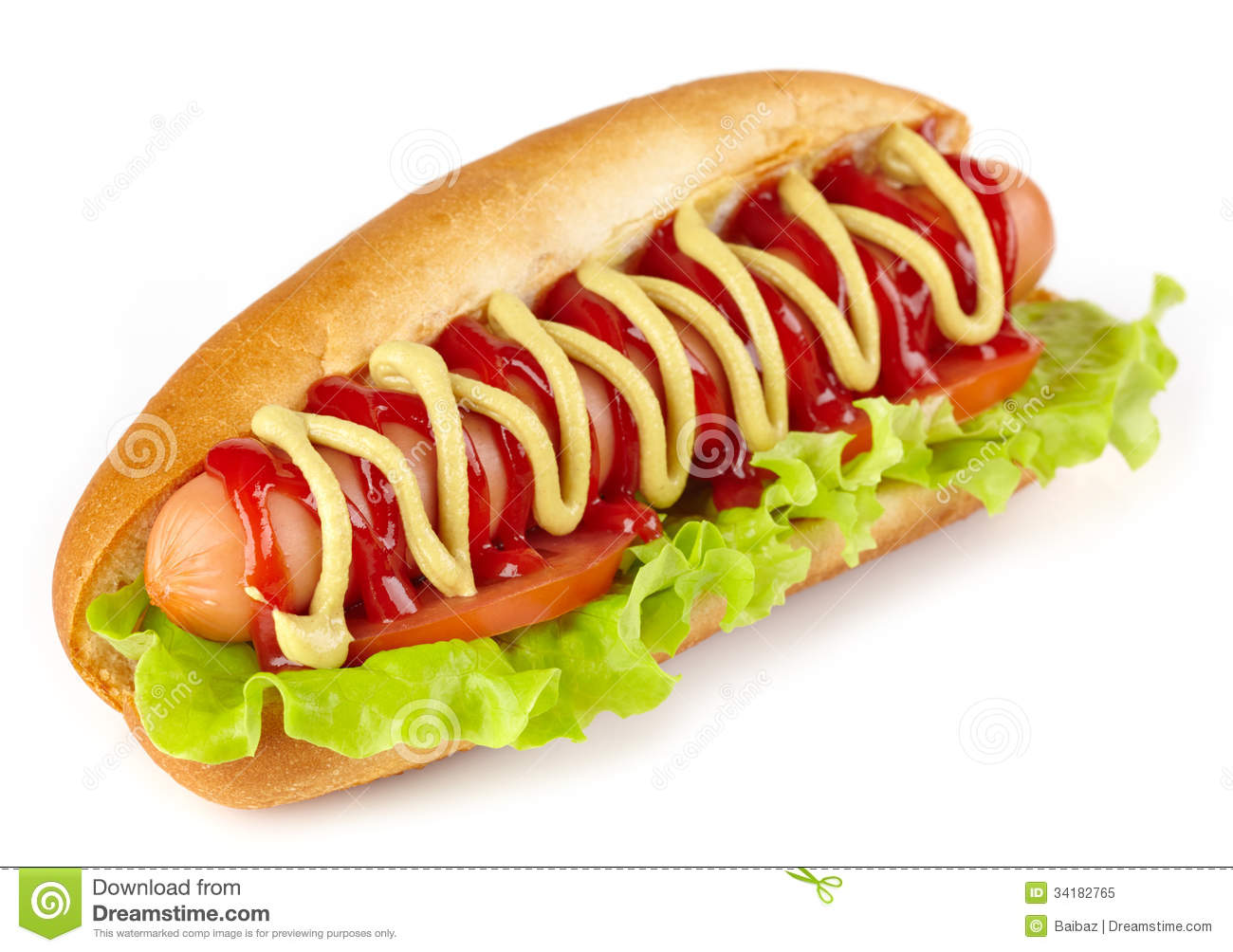 Wiener Dog And Hot Dog
