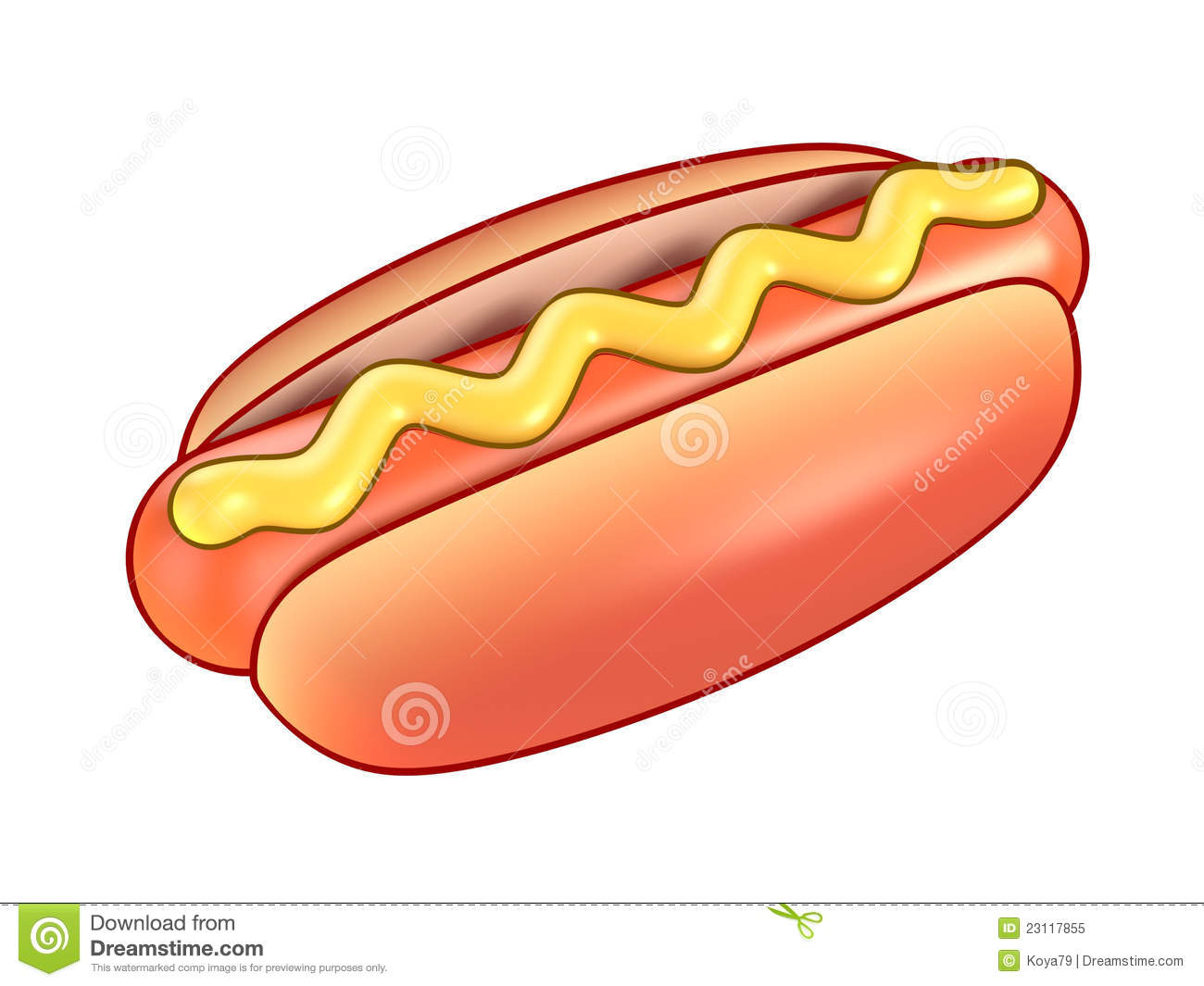 Hot Dog Mustard Only