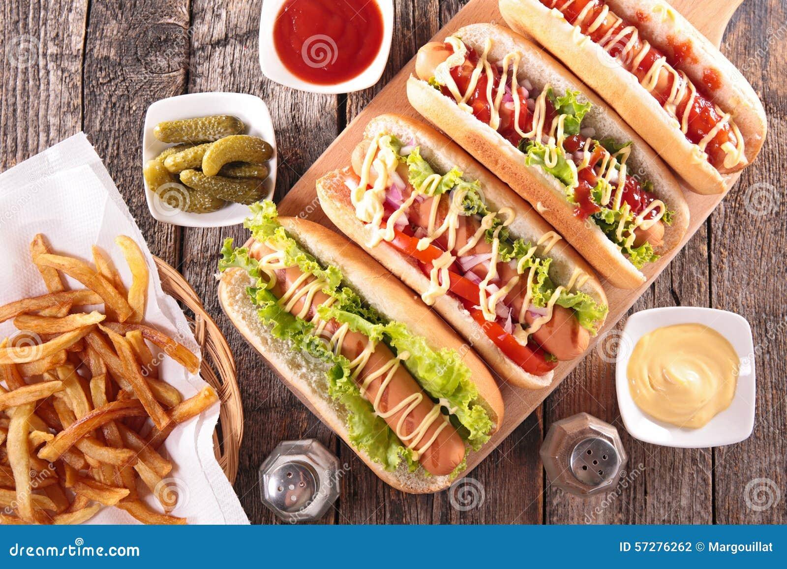 Hot dog na pokładzie