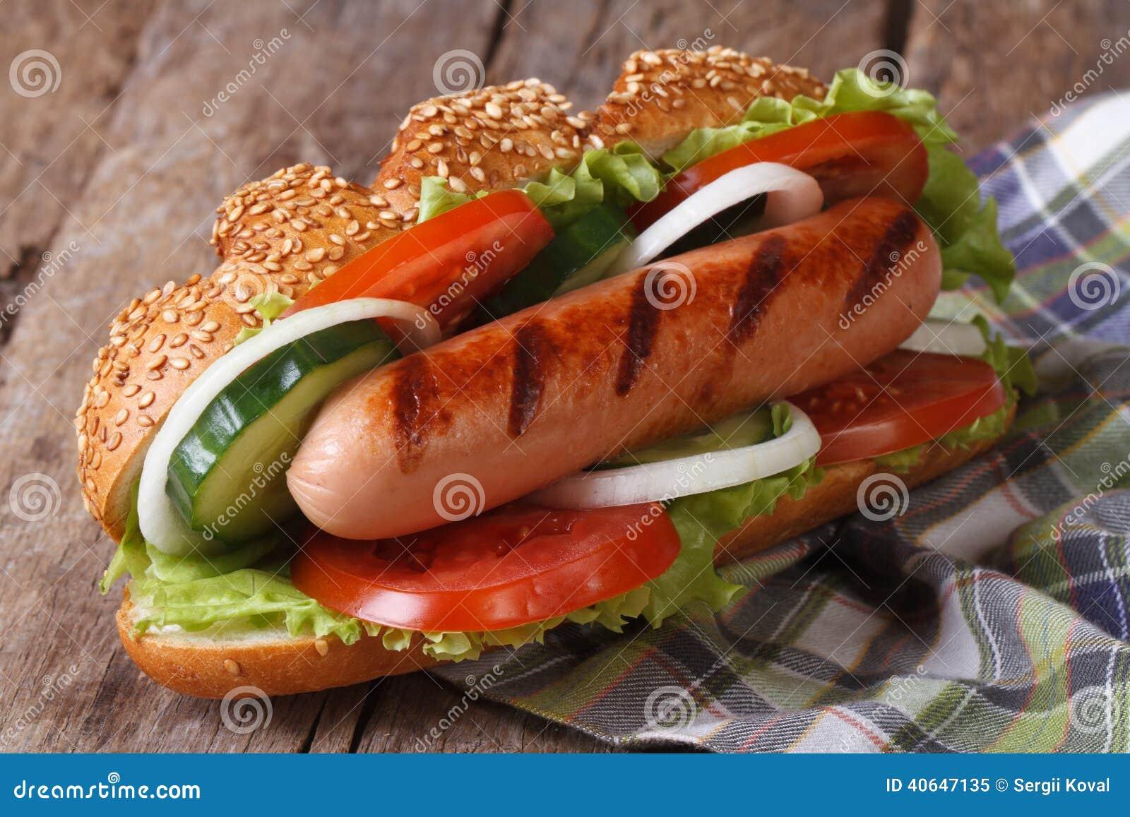 Сосиски для хот догов в домашних условиях