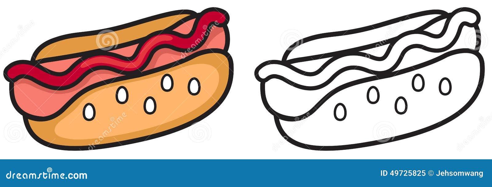 Hot Dog Cane