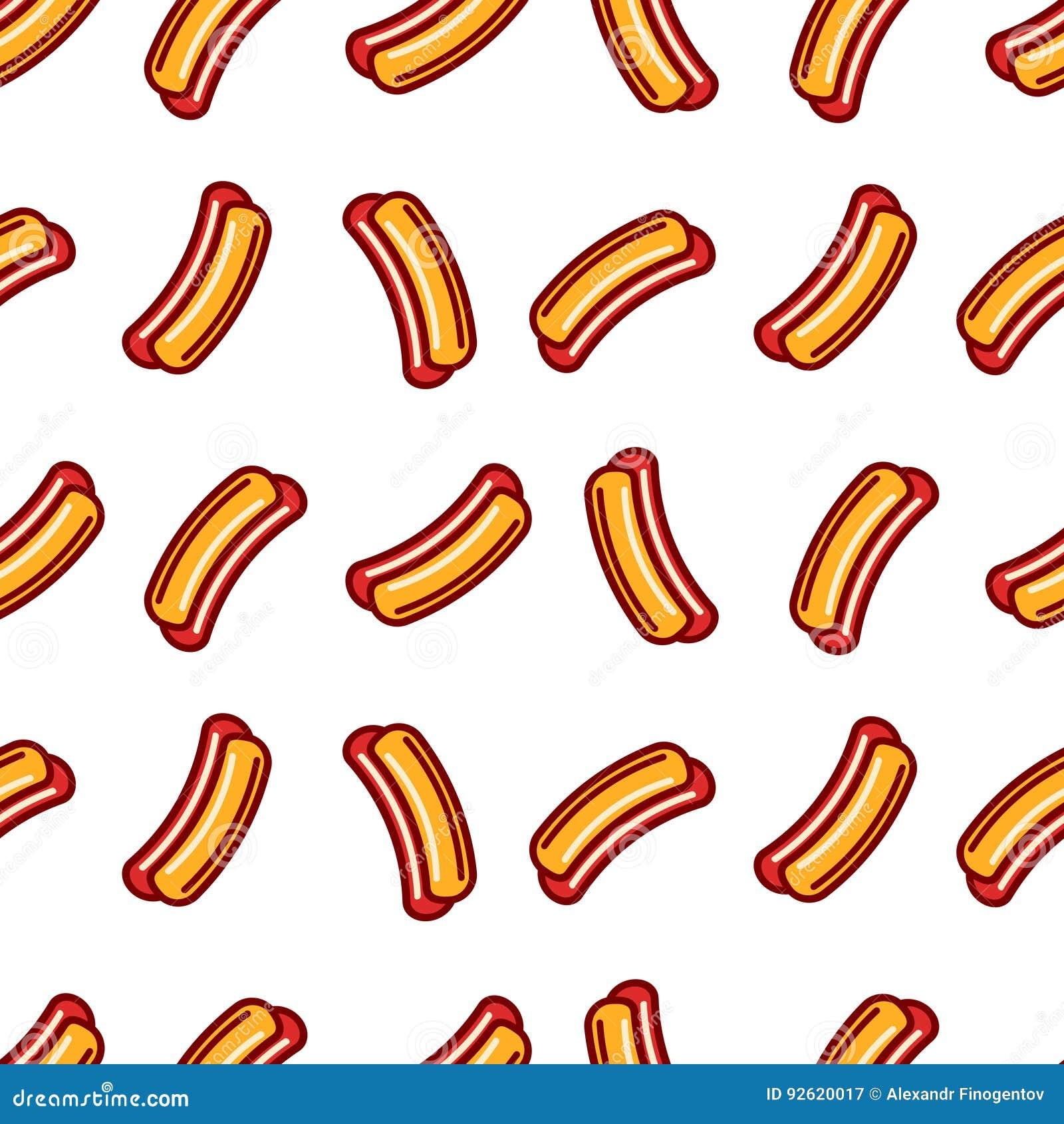 Hot Dog Flat Icon