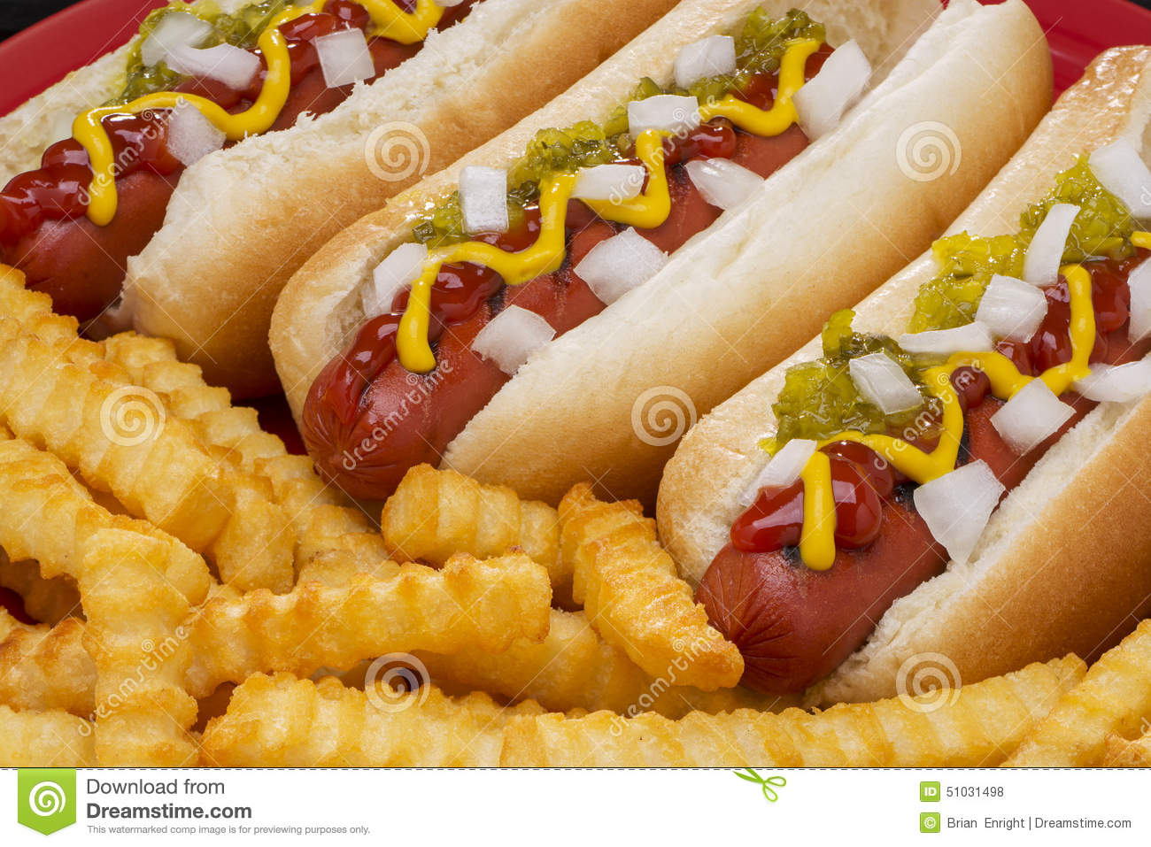 Barbecue Hot Dogs Time