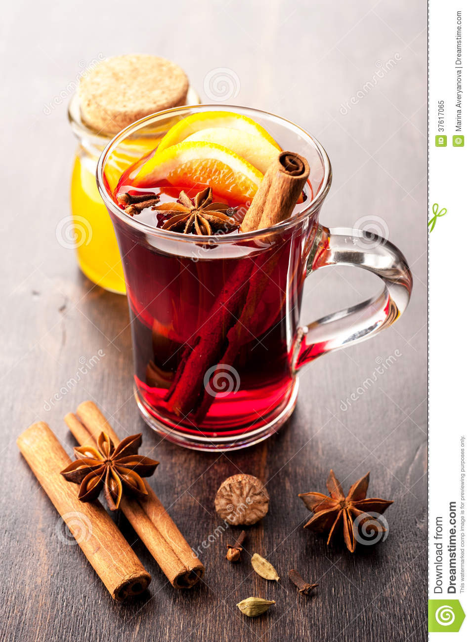 Honey Mulled Wine Recipe — Dishmaps