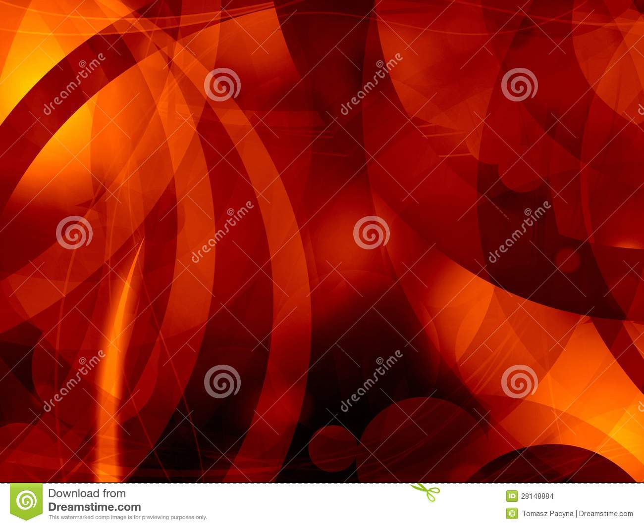 Hot Fever Hell Abstract Background Stock Illustration Illustration
