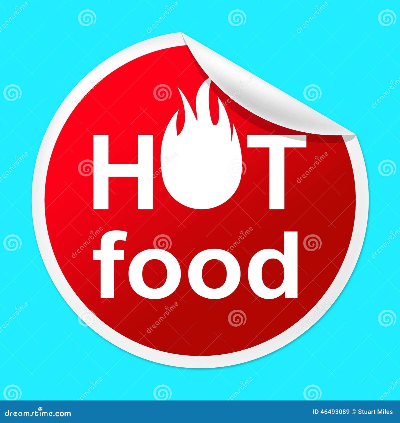 Hot Food Sticker Indicates Temperature Indicator And Best