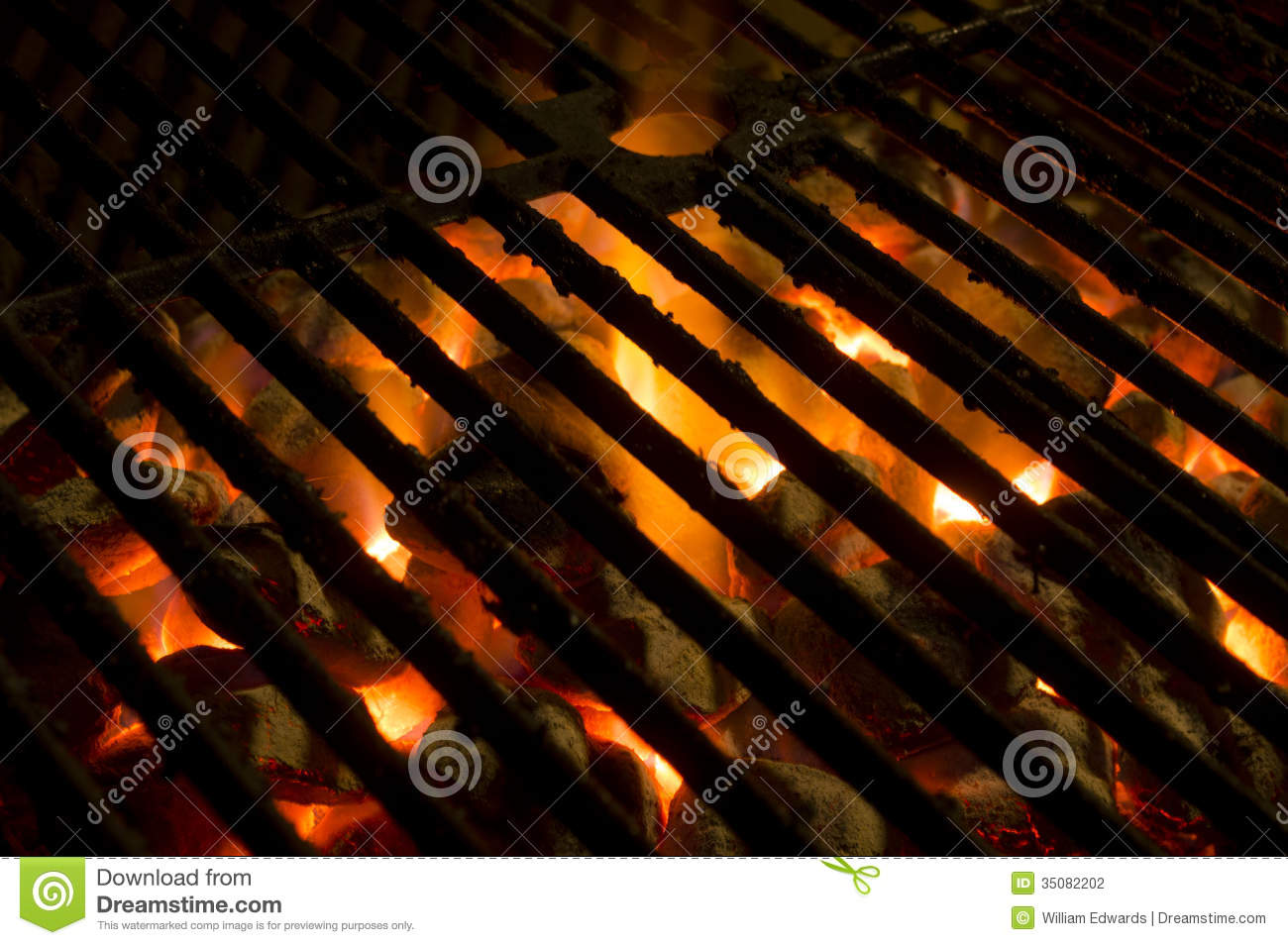 Hot Grill Stock Photography - Image: 35082202