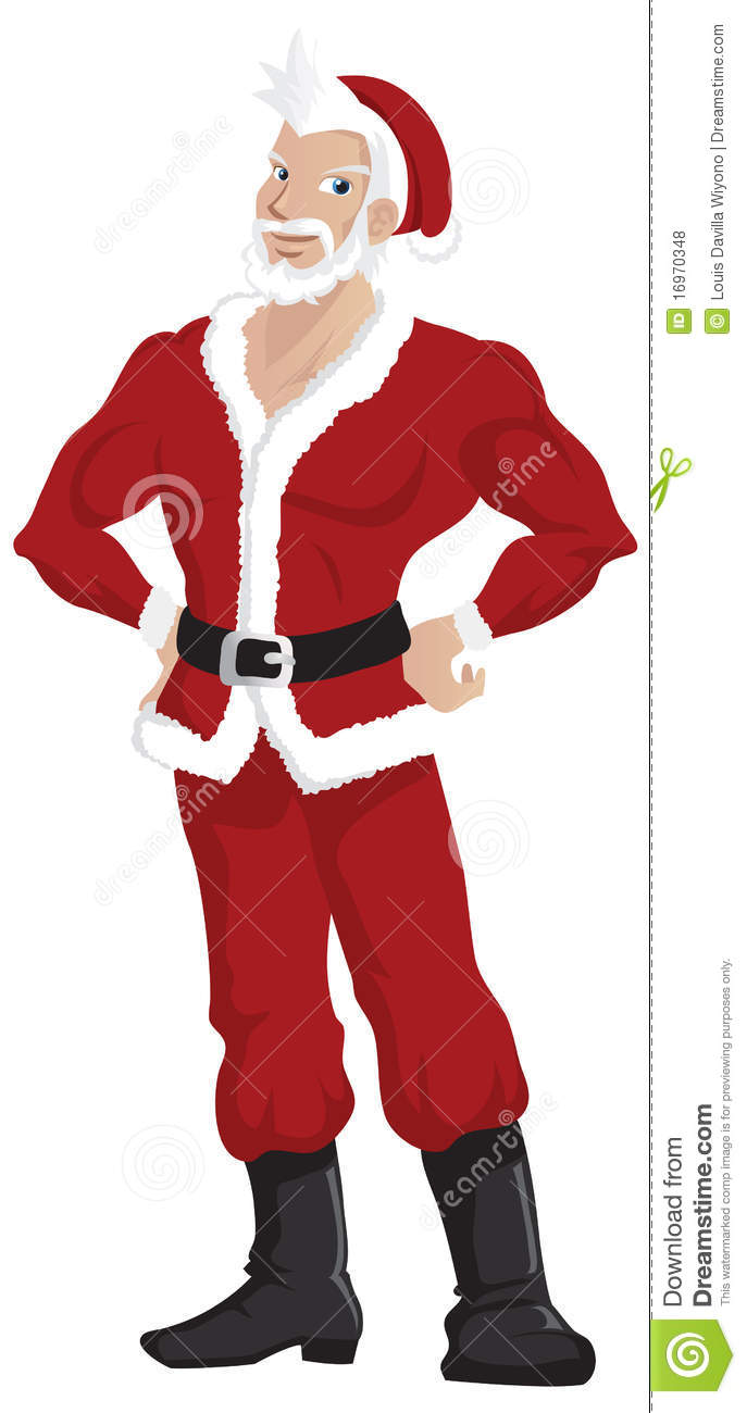 how to draw santa claus full body