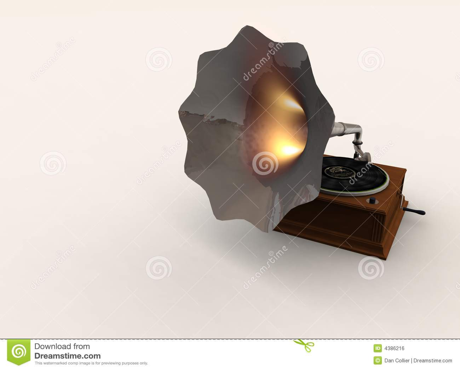 Hot Horned Gramophone