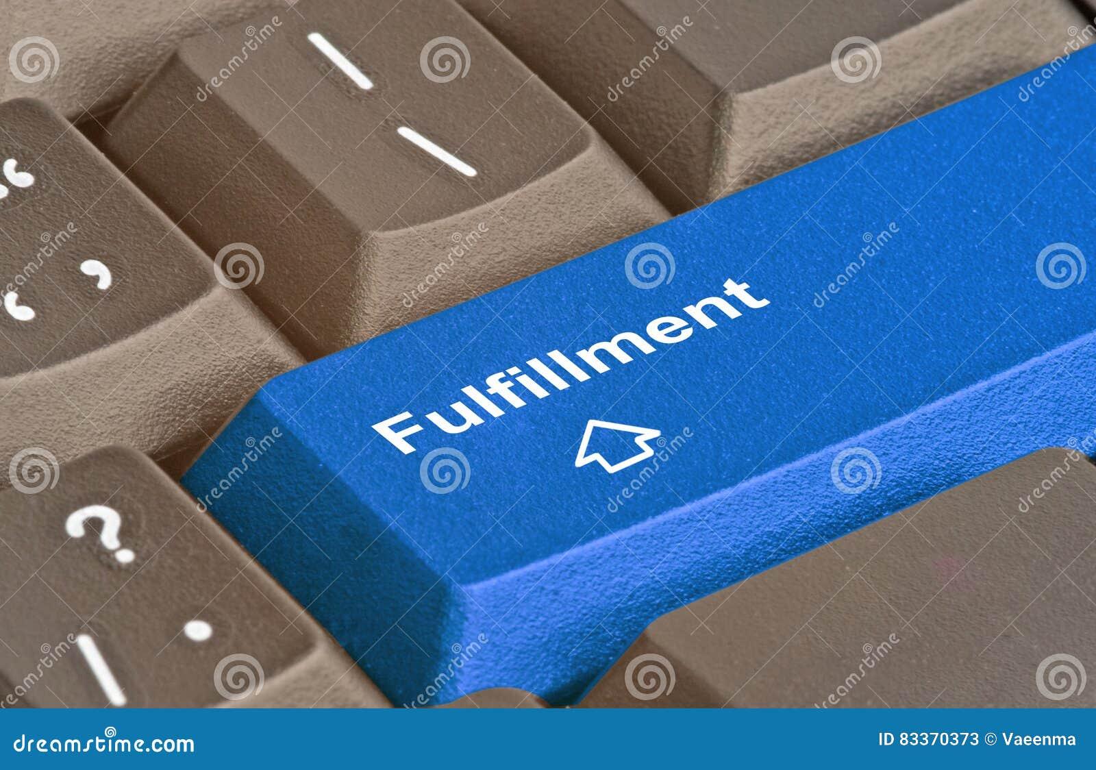 Hot key for fulfillment