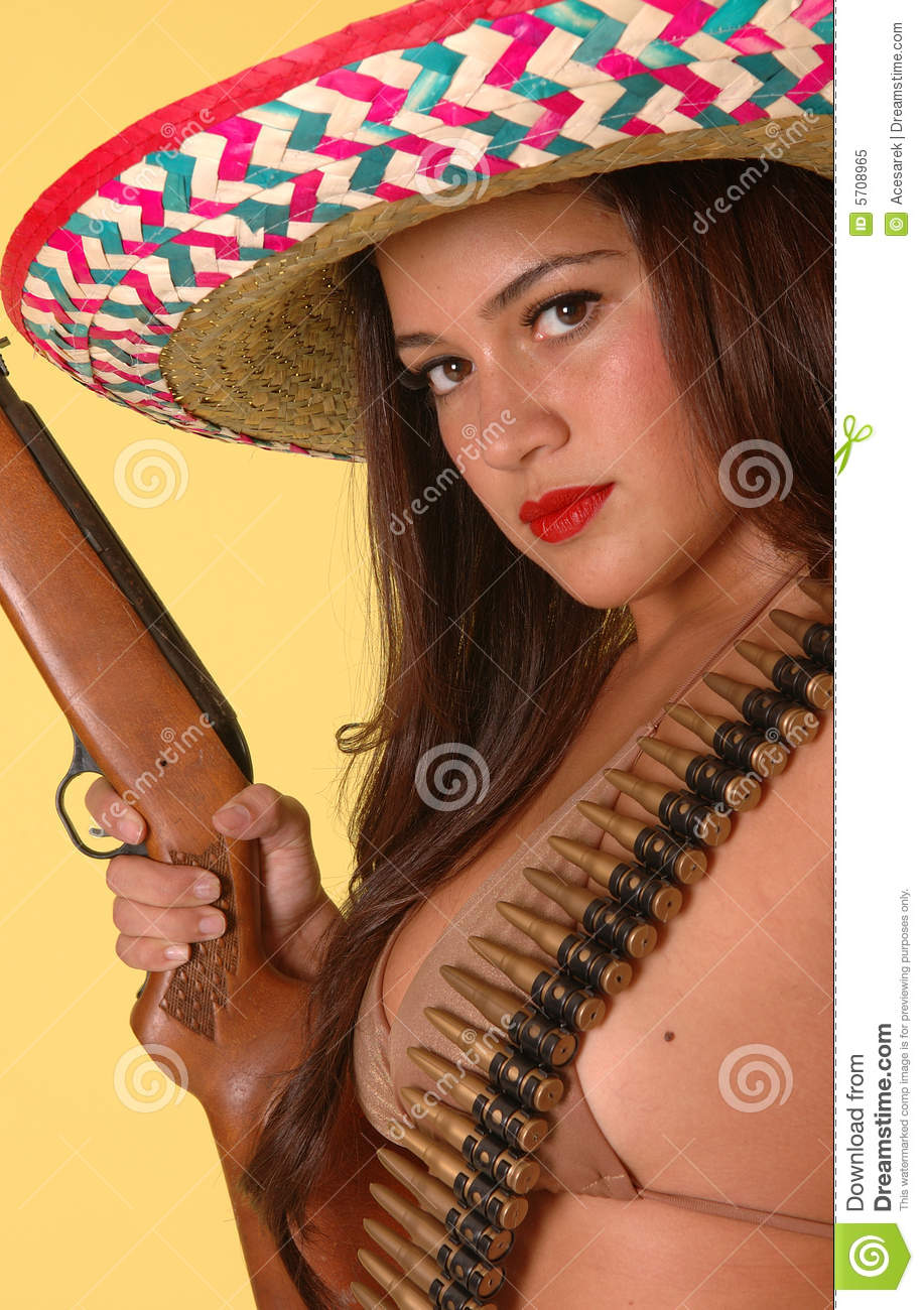 hot mexican outlaw stock image. image of woman, outlaw - 5708965