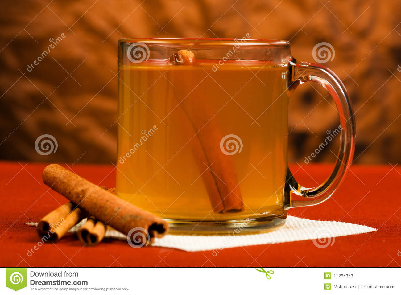 Hot Mulled Apple Cider Stock Photos - Image: 11265353