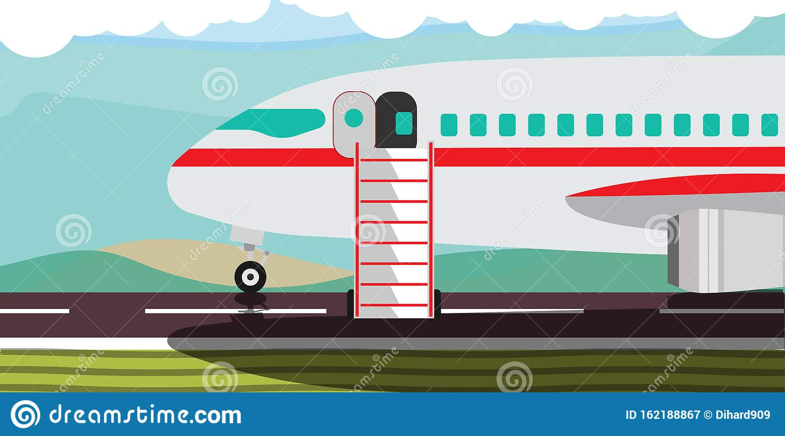 Hot Offer Deal Banner Travel Vector Illustration
