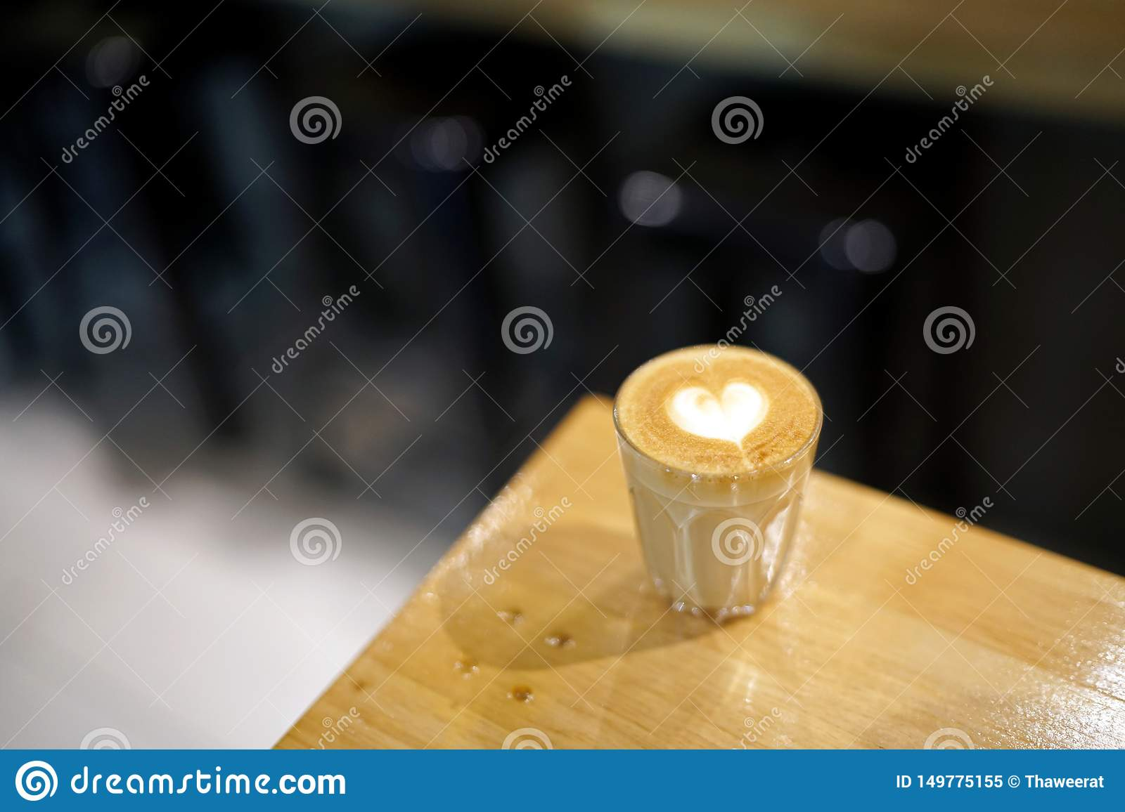 Hot Piccolo Latte - A Glass Of Coffee With Milk And ...