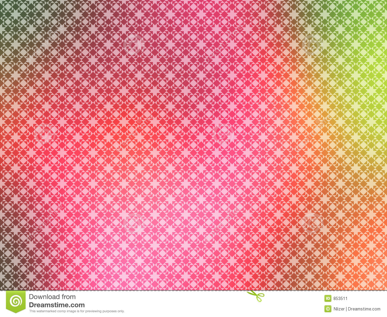 An illustration of geometric background with pink blur background for ...