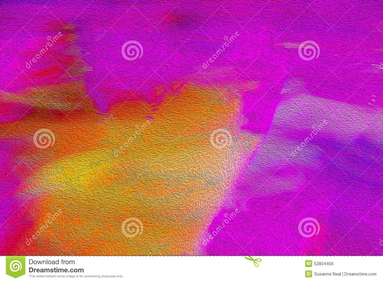 hot pink and orange textured background stock photo