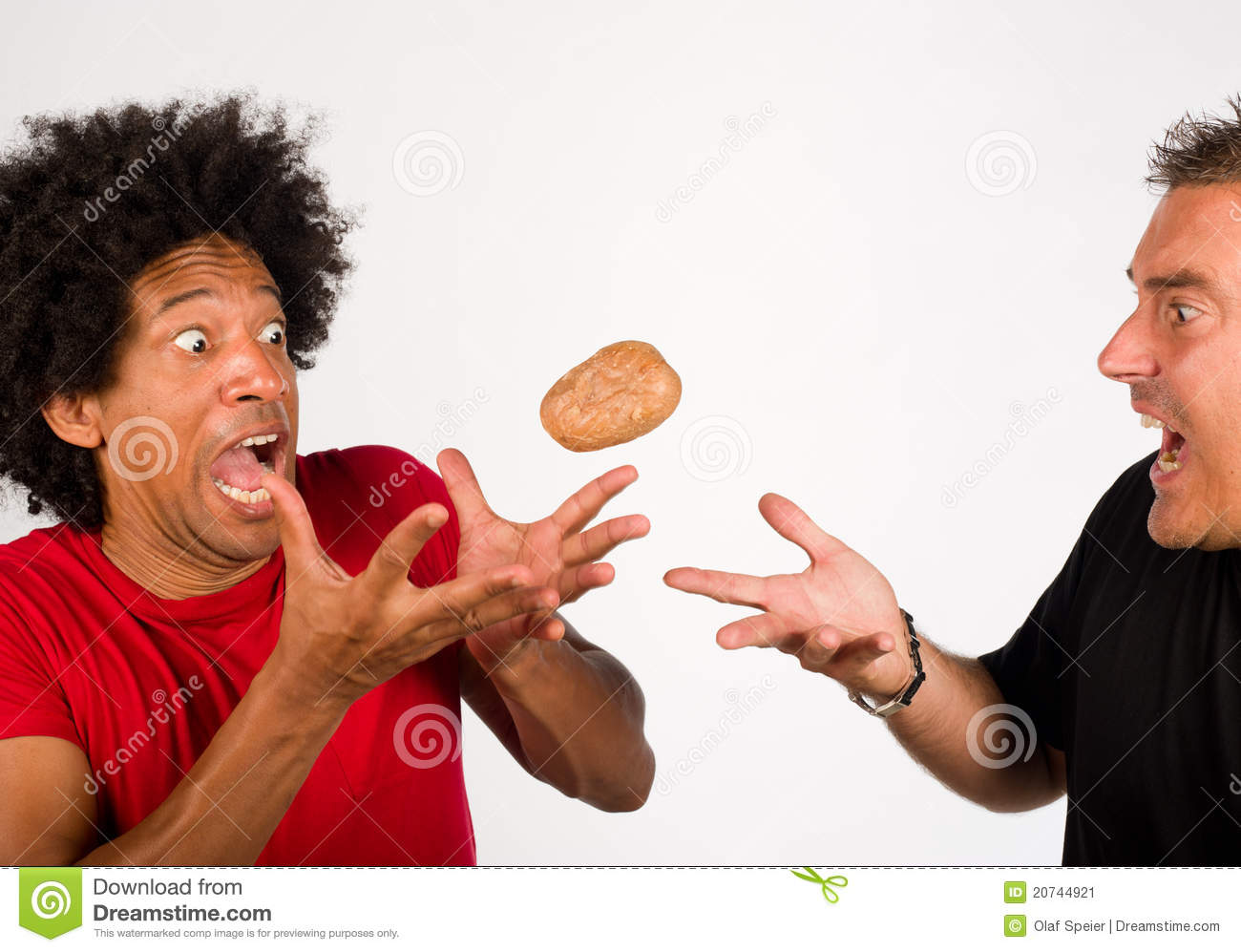 Hot Potato Stock Image - Image: 20744921
