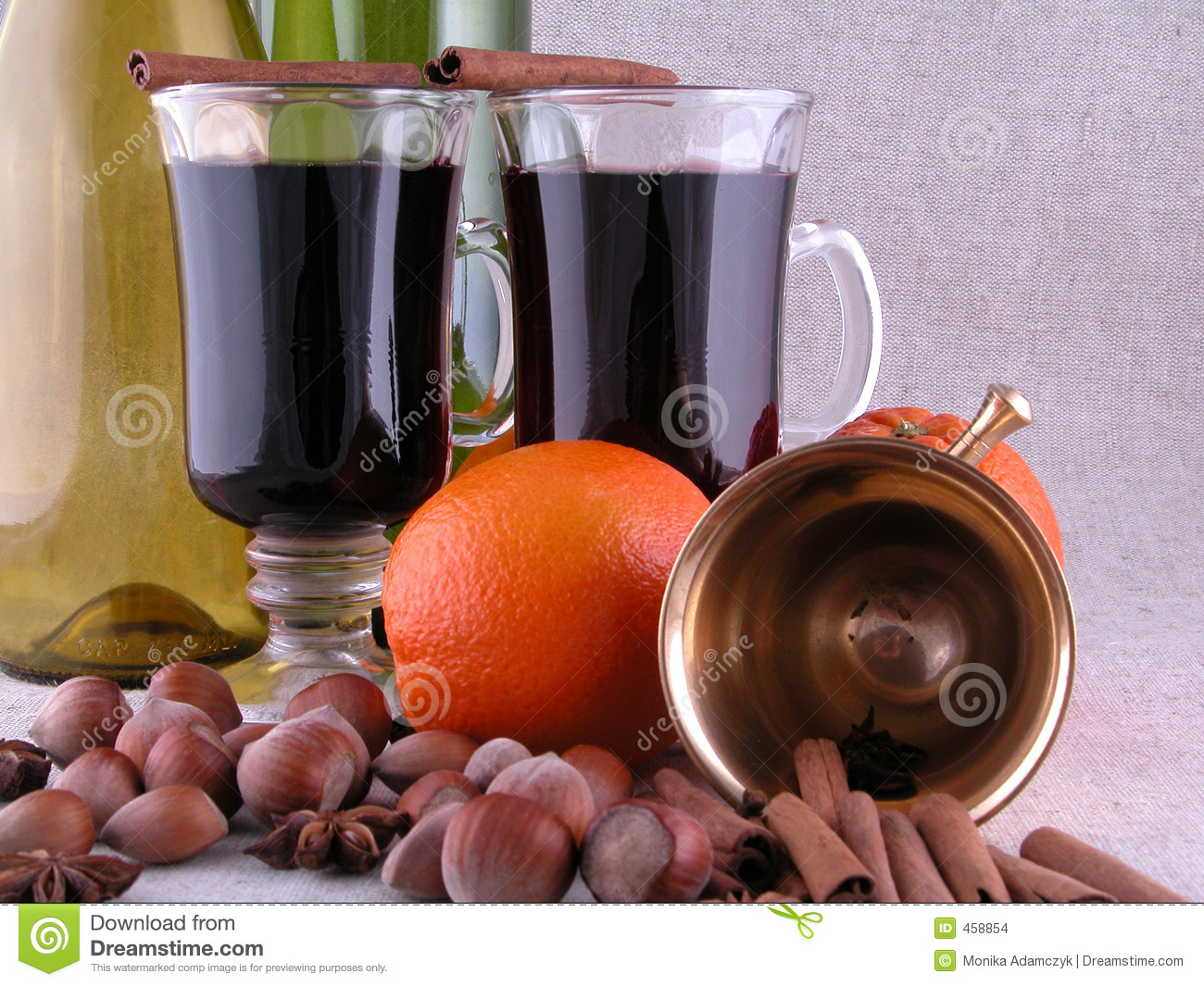 Download Hot red wine stock photo. Image of food, mortar, beverages - 458854