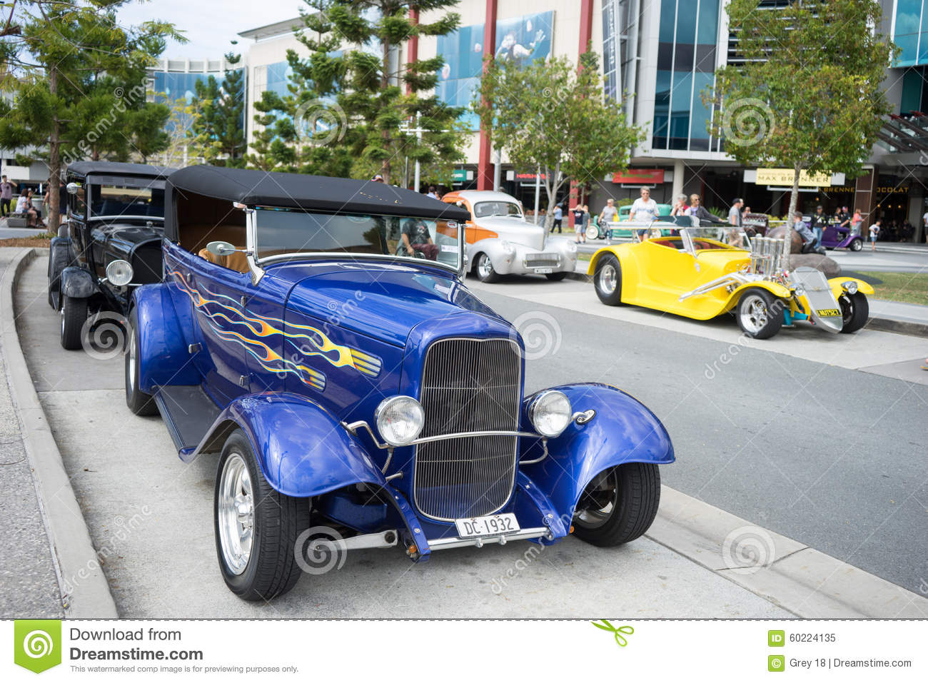 Hot Rod Car Show Editorial Image Image 60224135