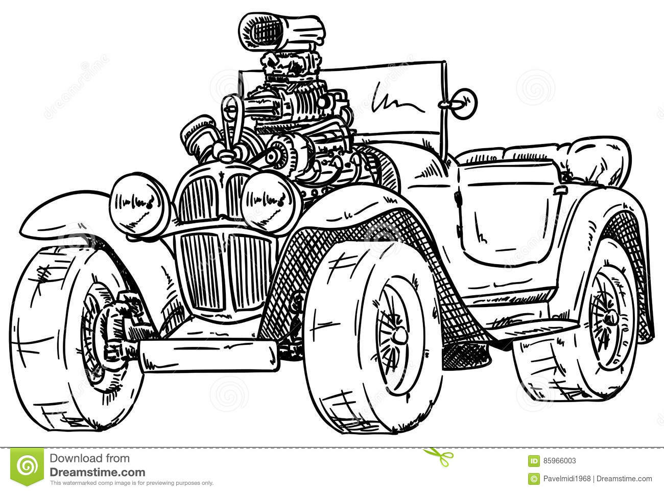 streetrod cartoons  illustrations  u0026 vector stock images