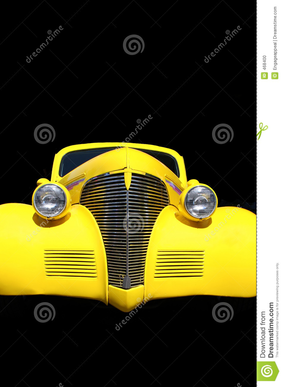 Download Hot Rod isolated in black stock photo. Image of vehicle - 468400