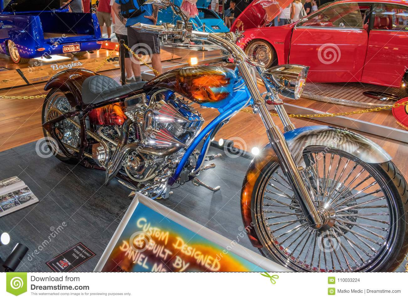 Hot Rod Motorcycle 2 Editorial Stock Image Image Of Retro
