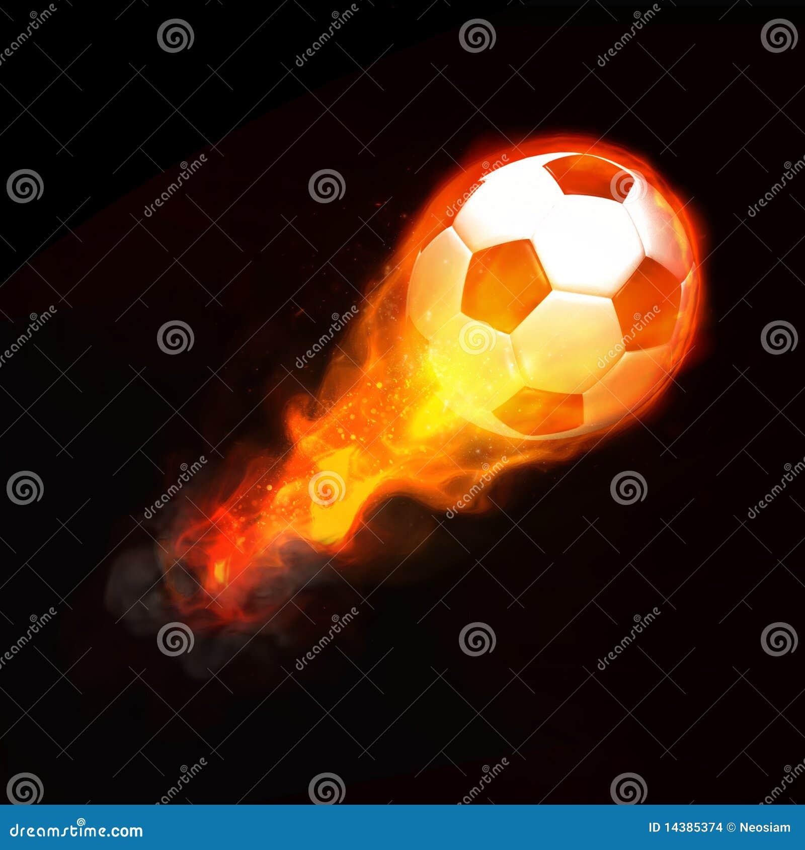 Hot soccer ball