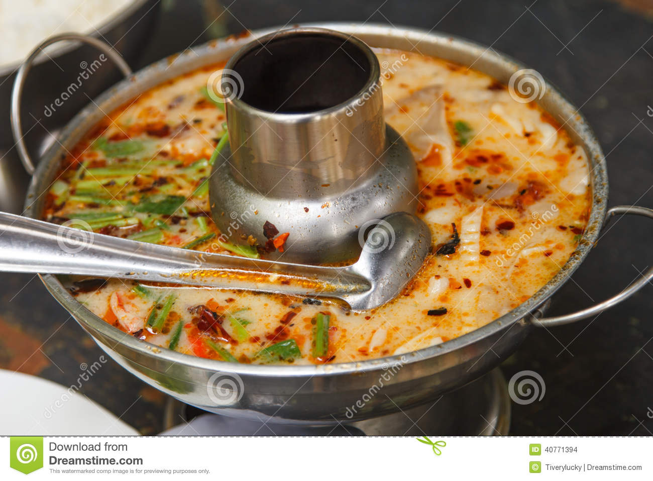 Hot And Sour Soup Stock Photo - Image: 40771394
