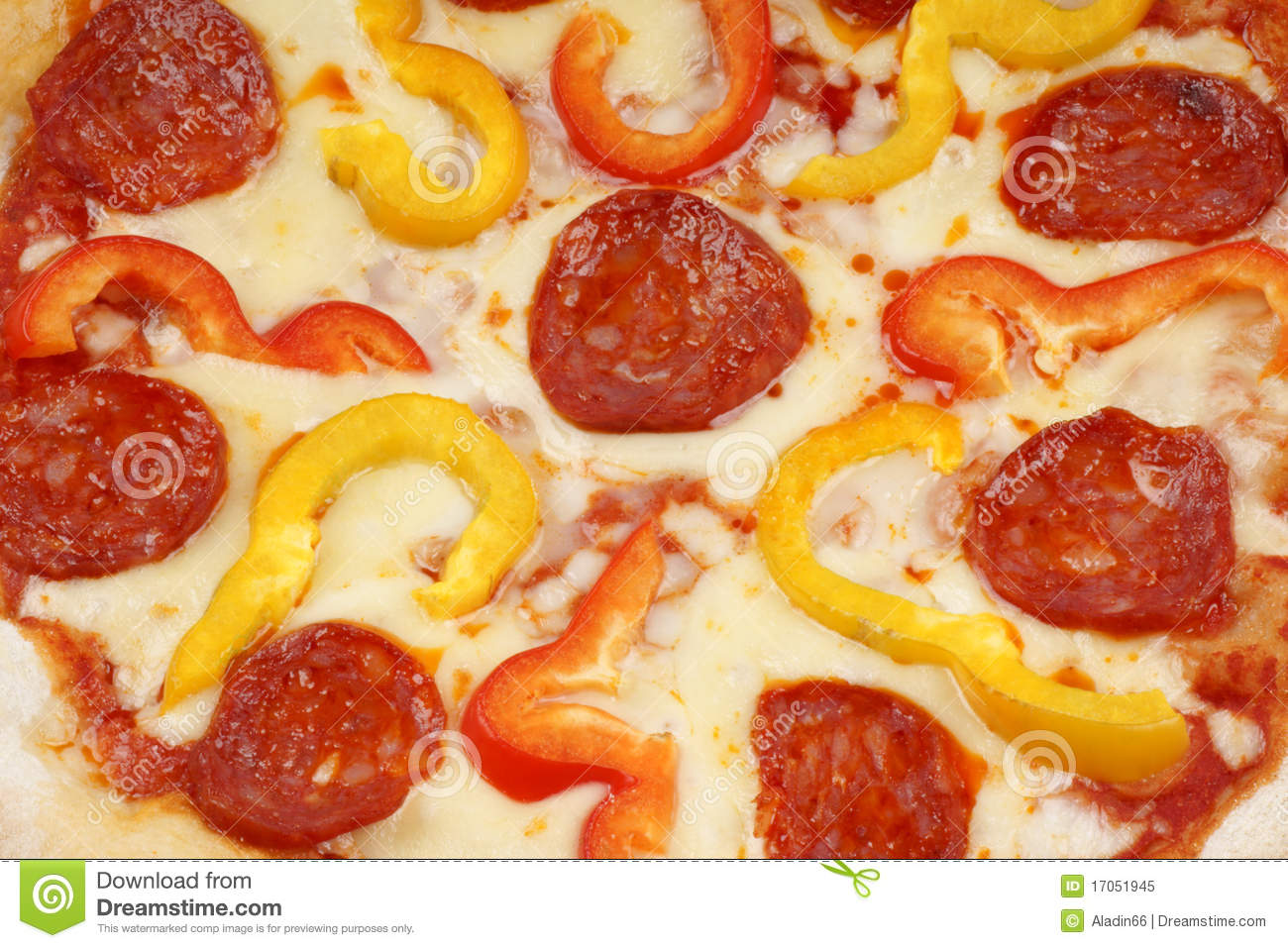 Pizza With Red And Yellow Peppers Recipes — Dishmaps