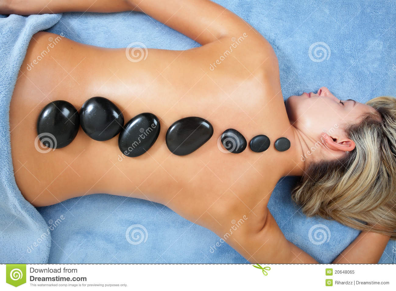stock photo sexy massage.