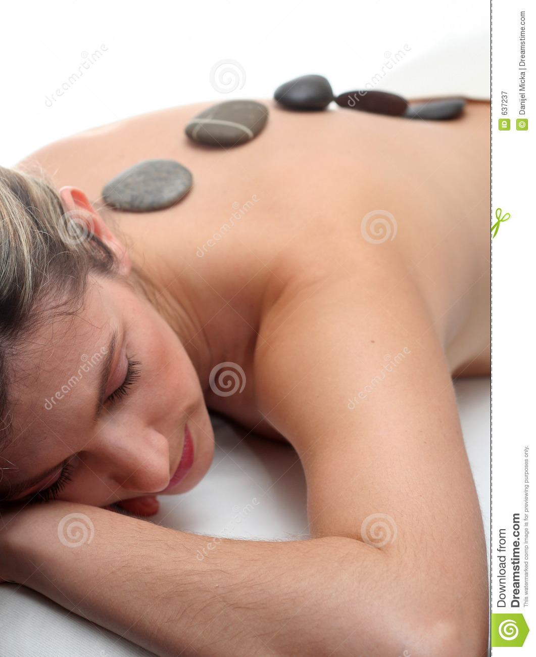 Download Hot stone massage stock image. Image of relaxing, relax - 637237