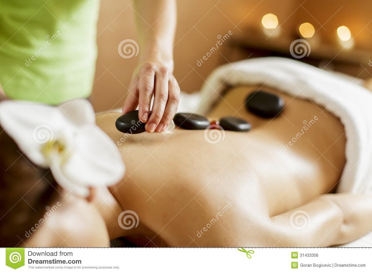 hot stone massage therapy royalty stock image image 31433306 hot stone massage therapy