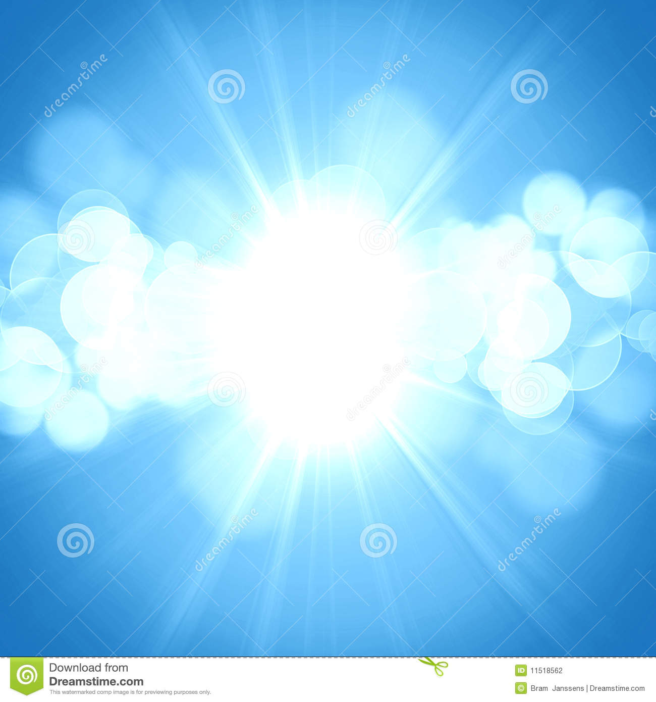 Hot Summer Sun Stock Photography - Image: 11518562