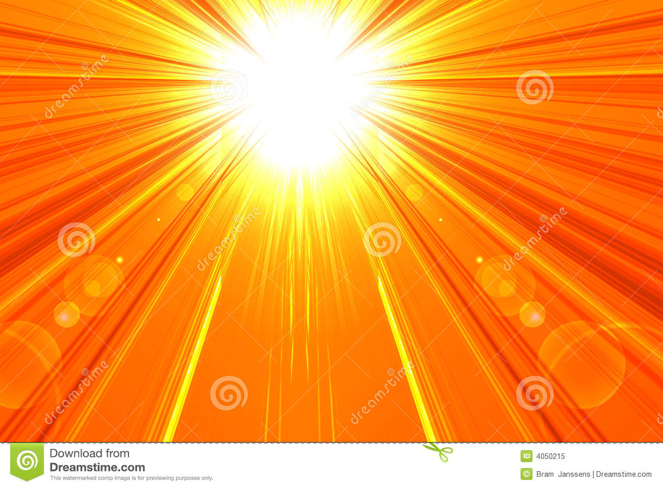 Hot Summer Sun Royalty Free Stock Photo - Image: 4050215