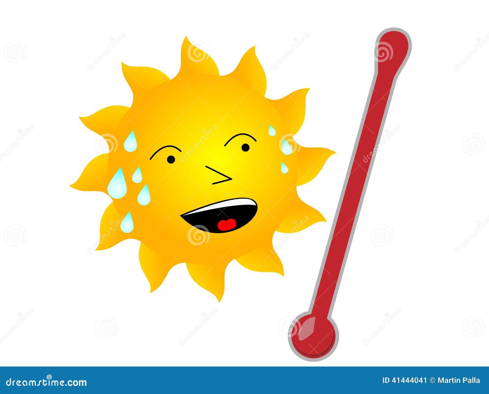 HOT sun stock illustration. Illustration of conditioning ...