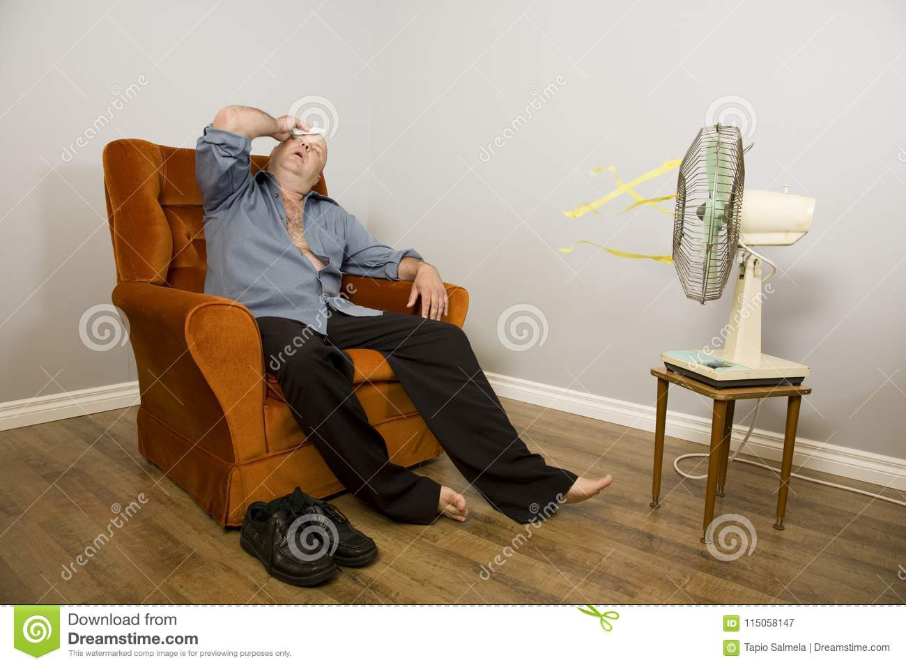 Groovy Hot Sweaty Summer Stock Image Image Of Retro Melting Pdpeps Interior Chair Design Pdpepsorg