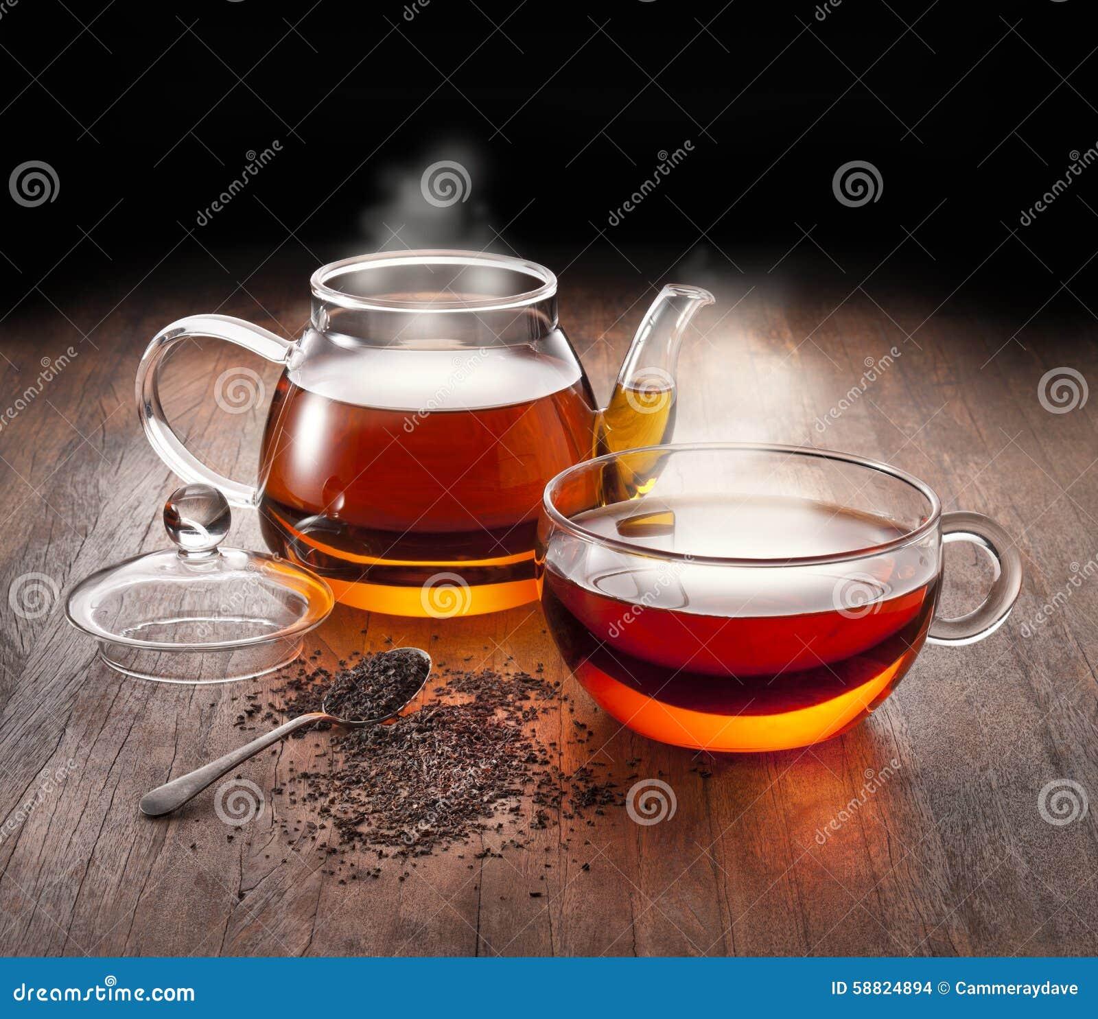 Hot Tea Teapot Cup