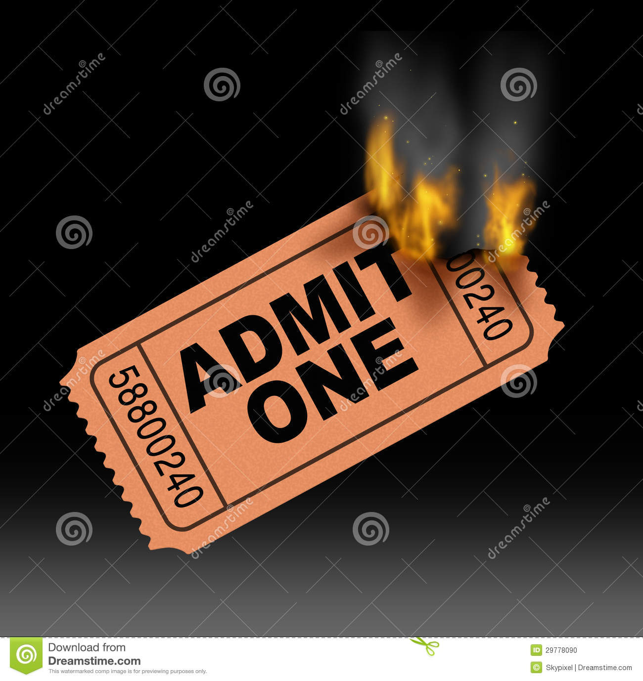 hot ticket stock photo image 29778090 ticket stub clipart SVG Ticket Stub