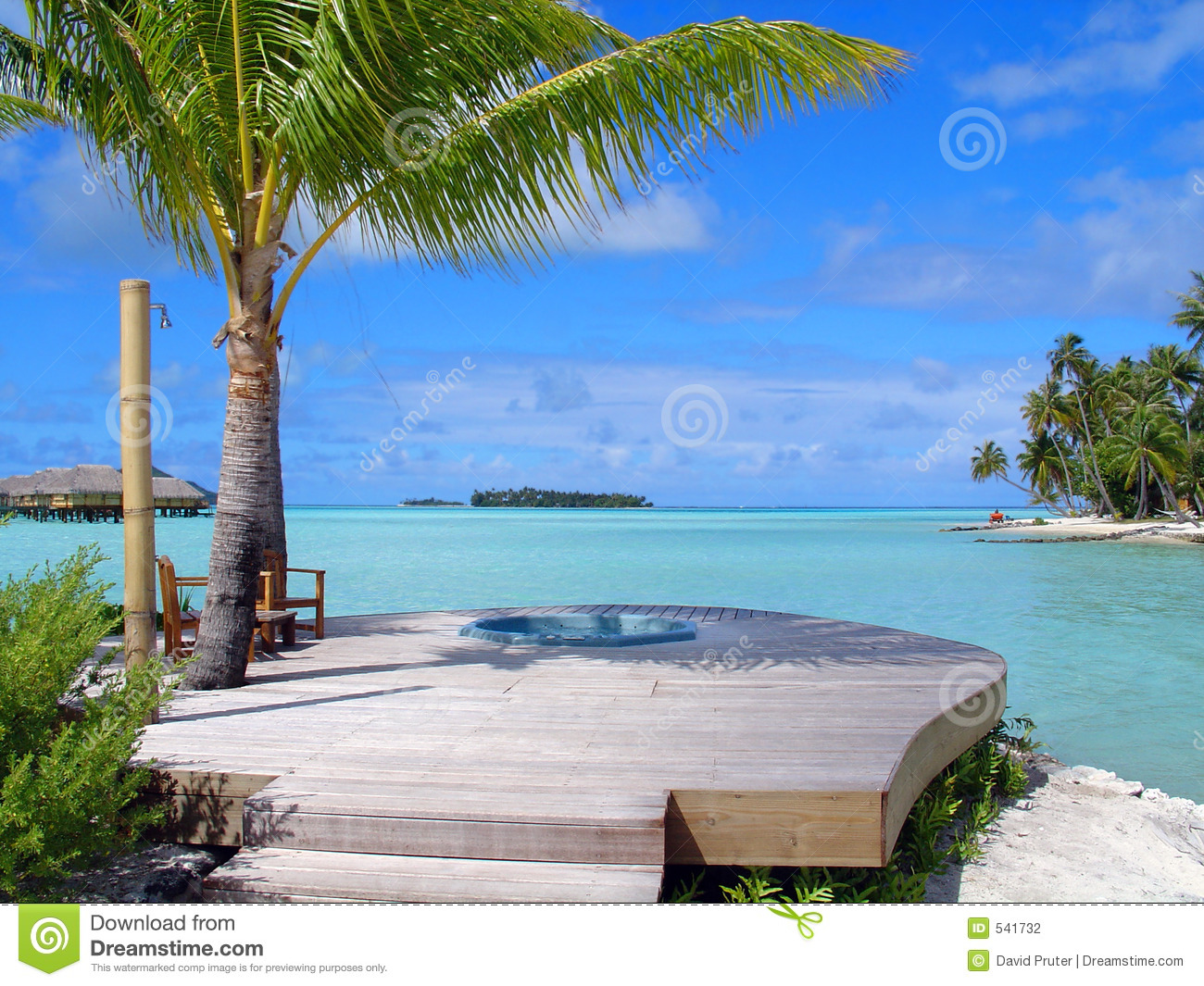 Hot Tub In The Tropics Stock Photography Image 541732