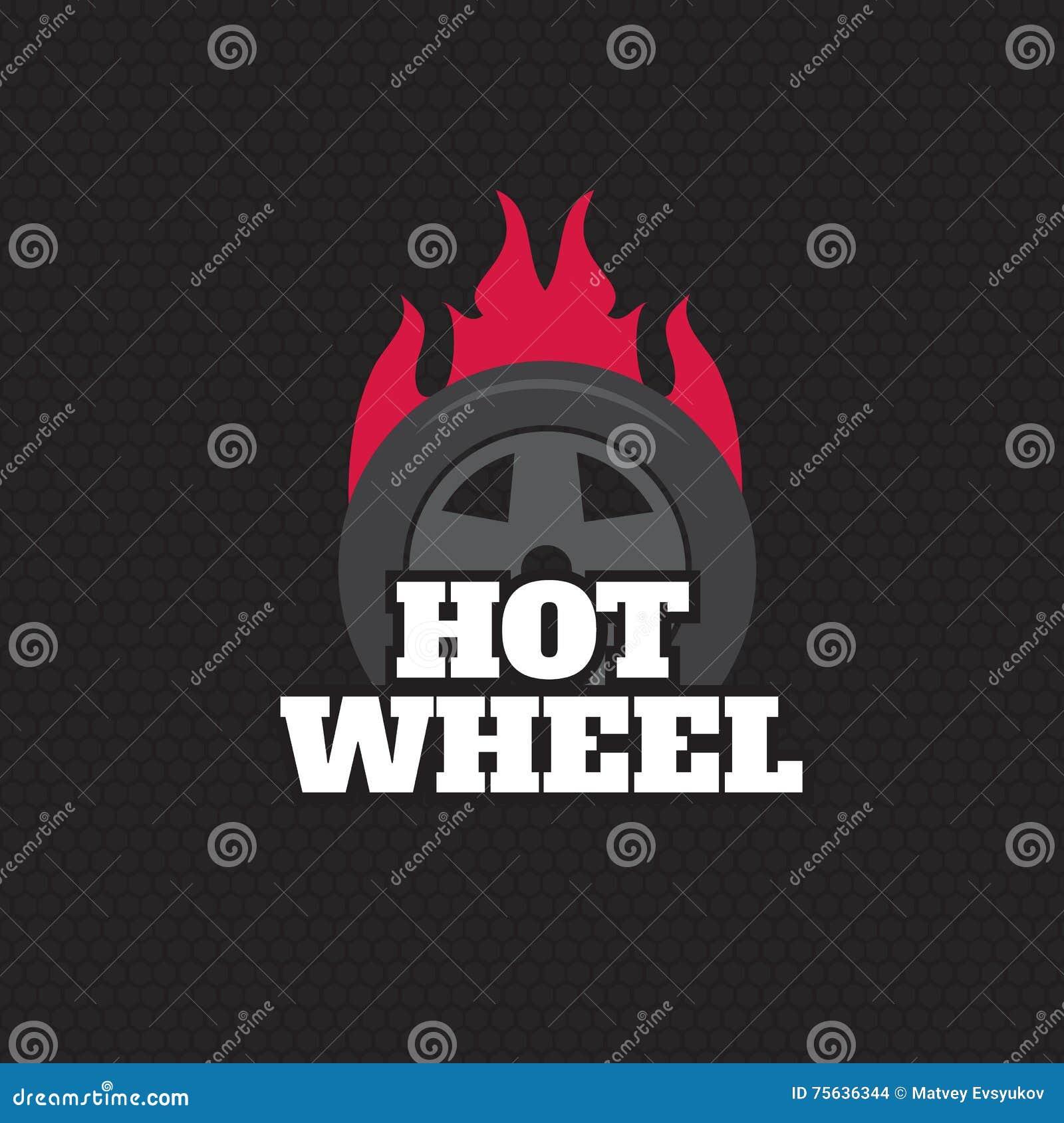 Red Hot Wheel Logo Stock Illustrations – 44 Red Hot Wheel Logo ...