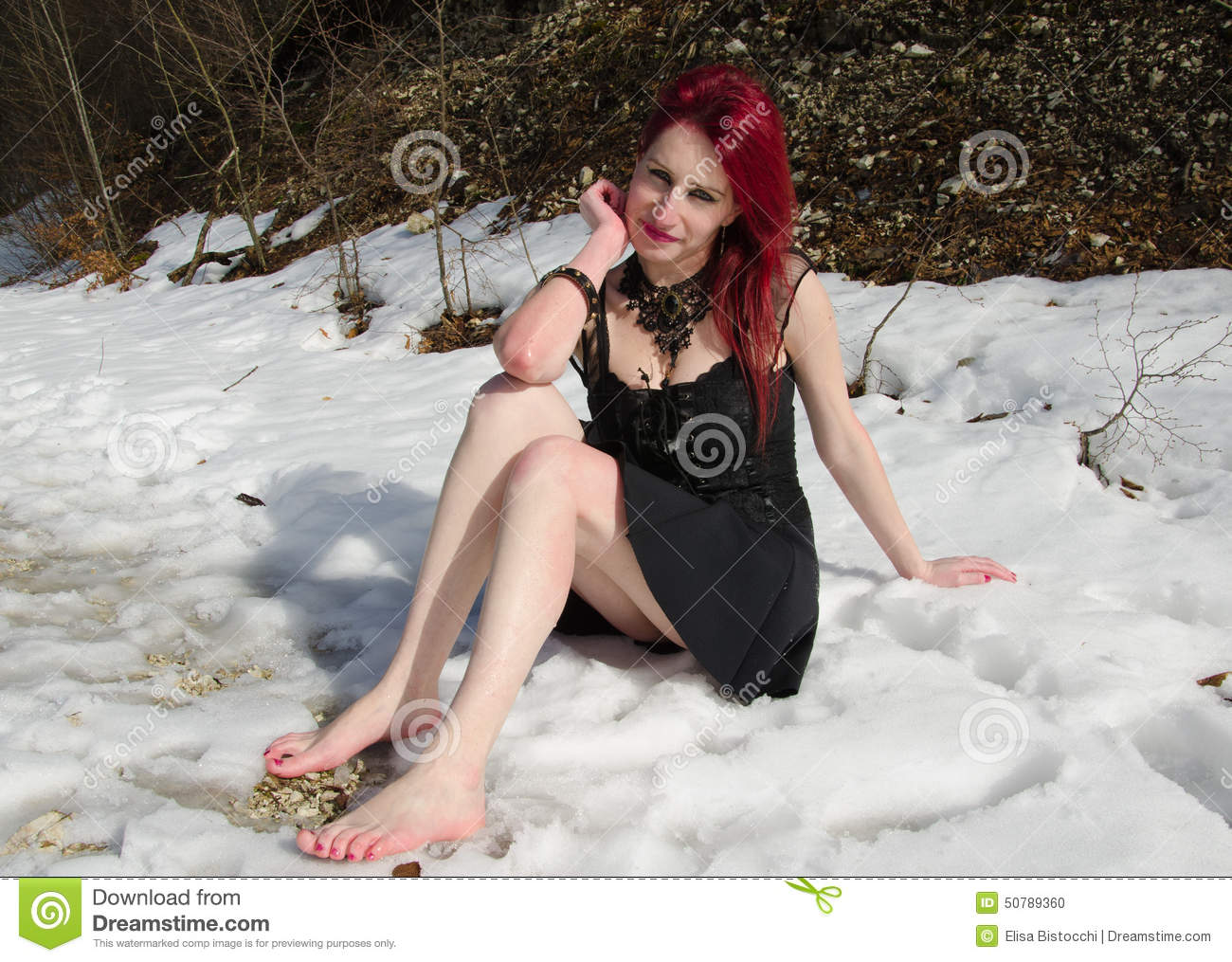 https://thumbs.dreamstime.com/z/hot-woman-snow-sitting-50789360.jpg