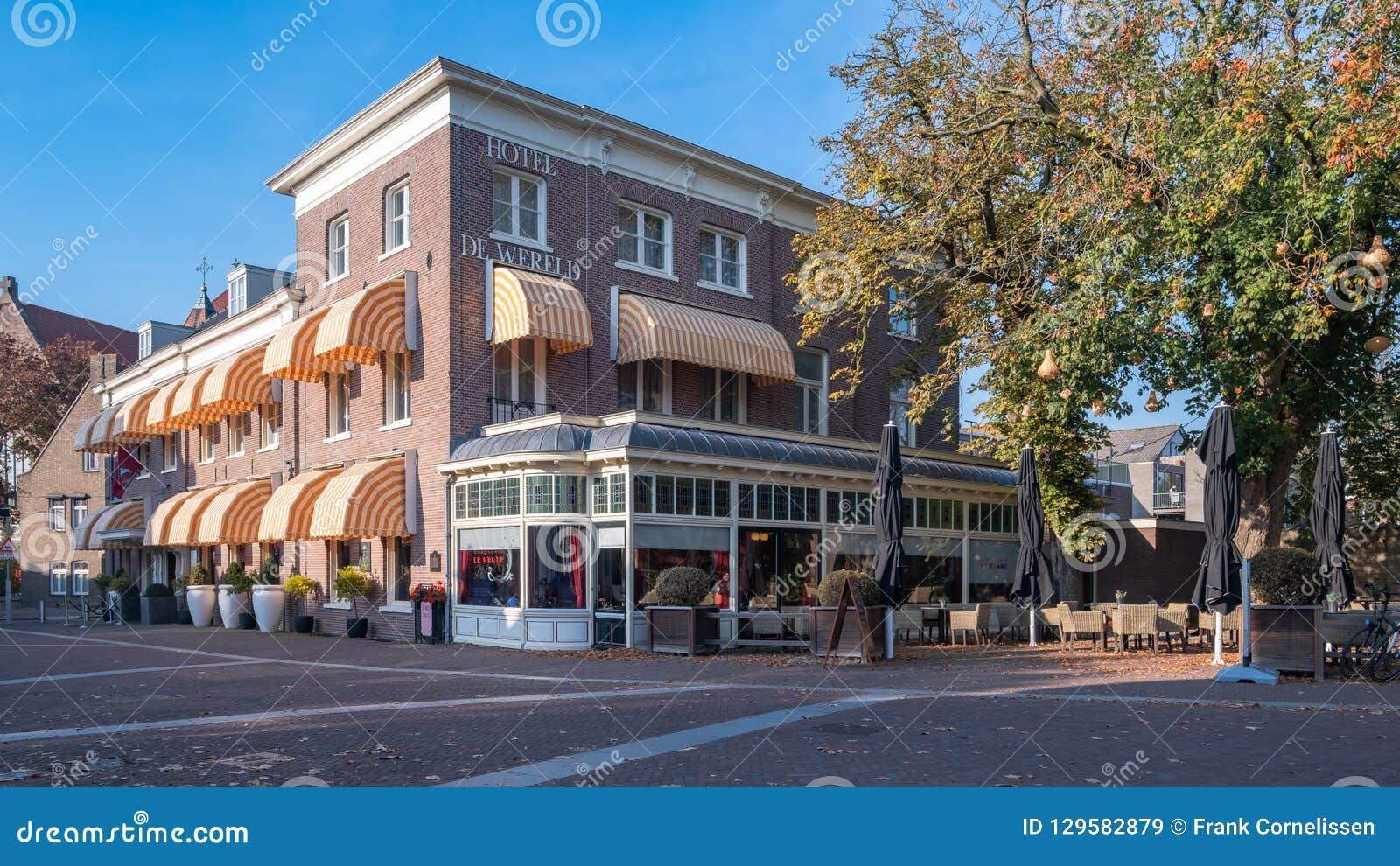 Hotel świat, Wageningen, holandie Miejsce kapitulacja