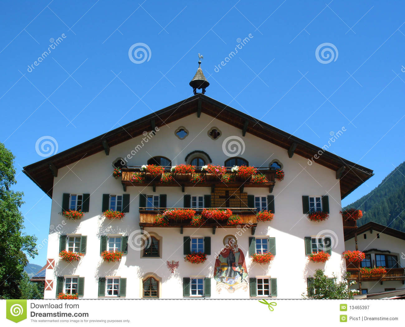 Hotel royalty free stock photography image 13465397 for Design hotel zillertal