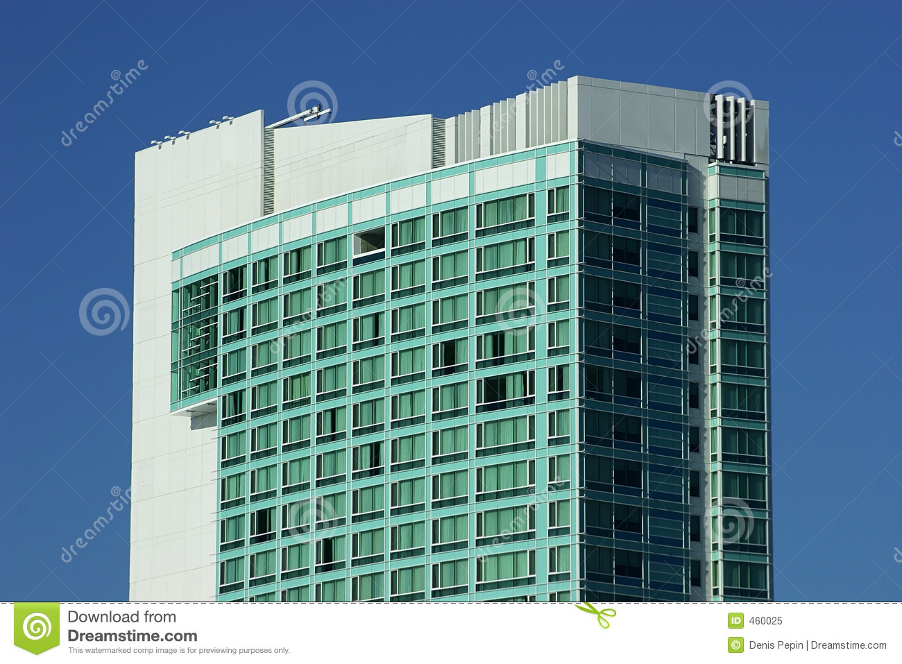 Download Hotel 2 stock image. Image of facade, quarters, blue, hostelry - 460025