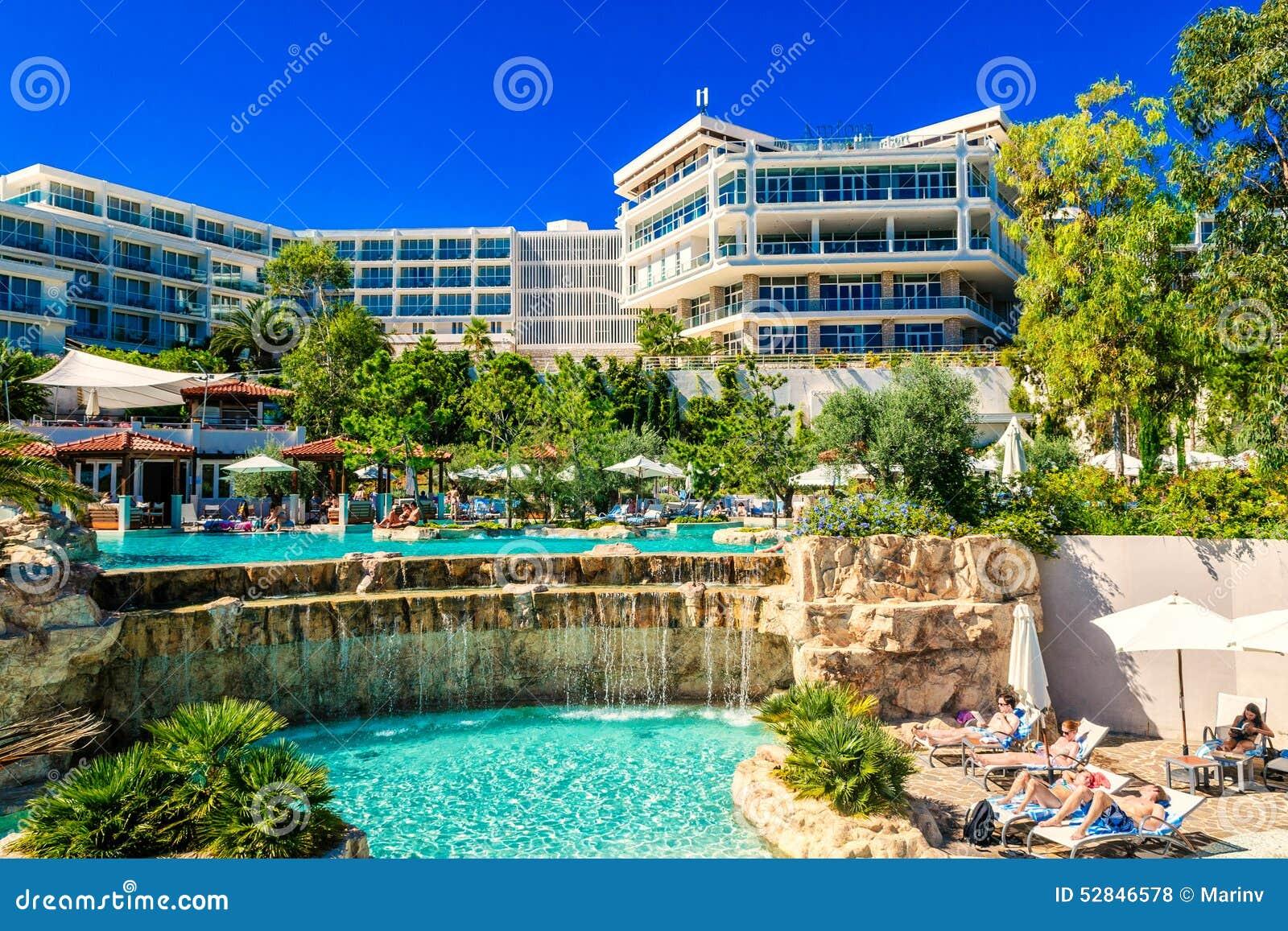 Hotel Amfora In Der Stadt Von Hvar Auf Insel Von Hvar In
