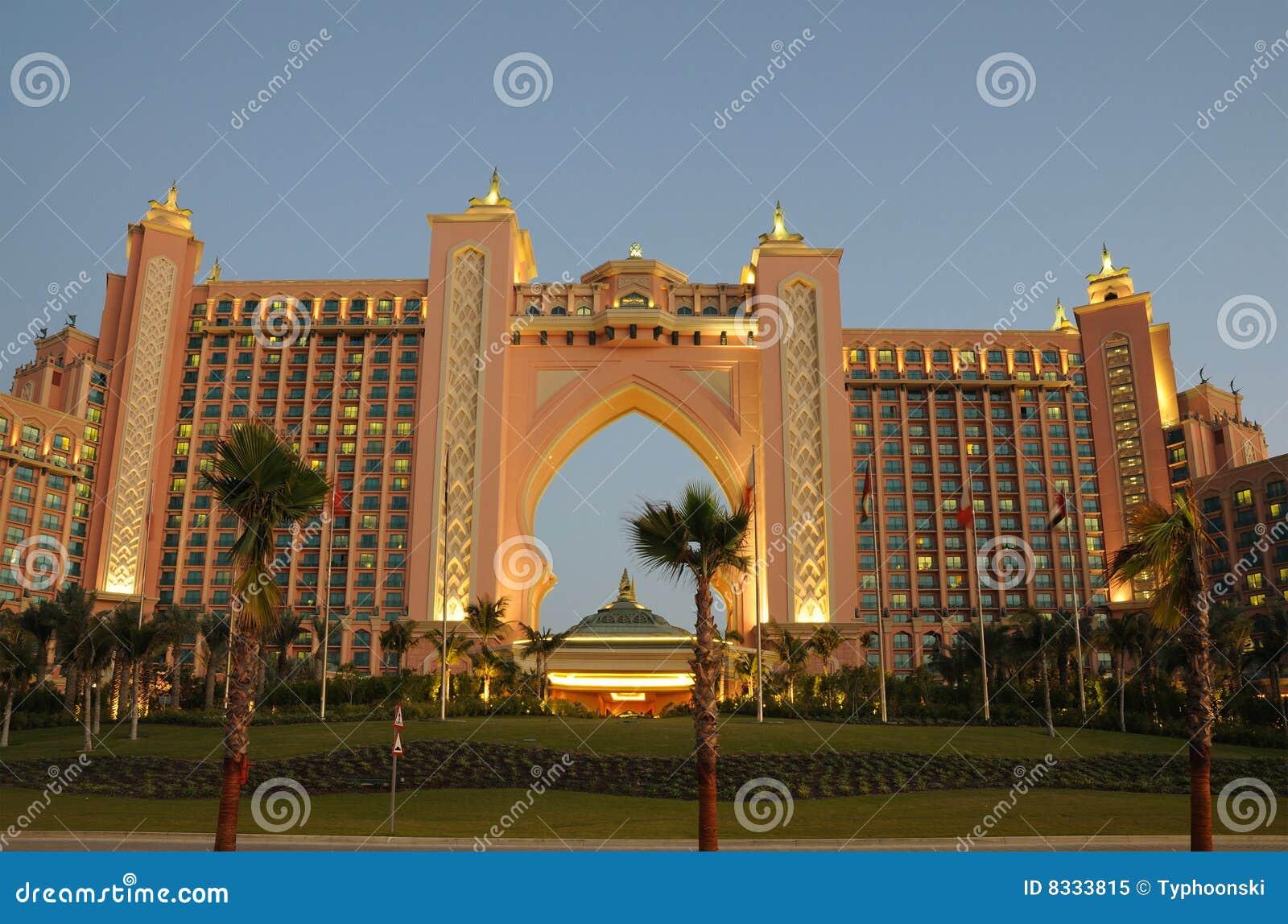 Atlantis The Palm Dubai Aquaventure Stock Photos