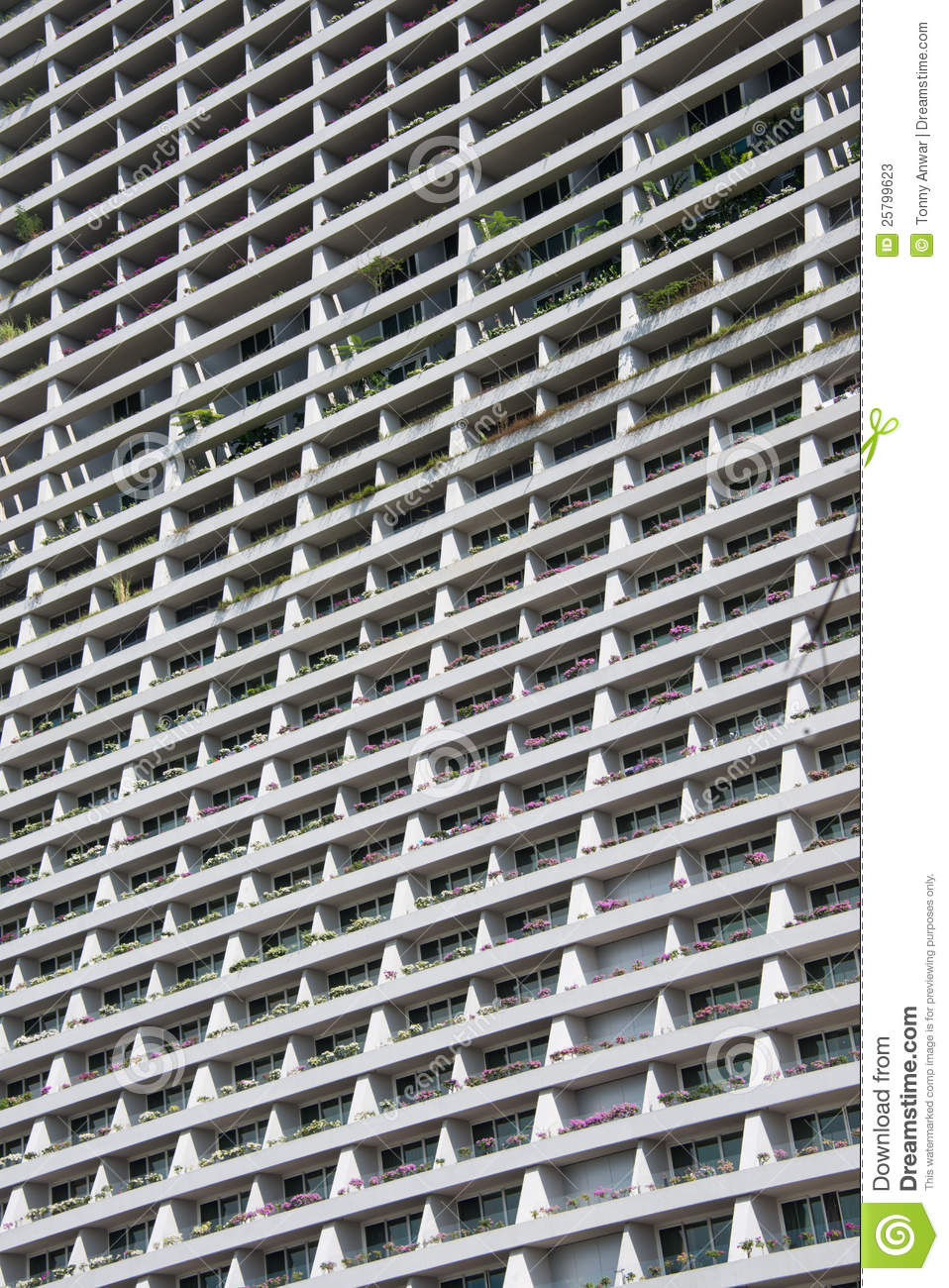 Hotel balconies stock photos image 25799623 for Hotels with balconies