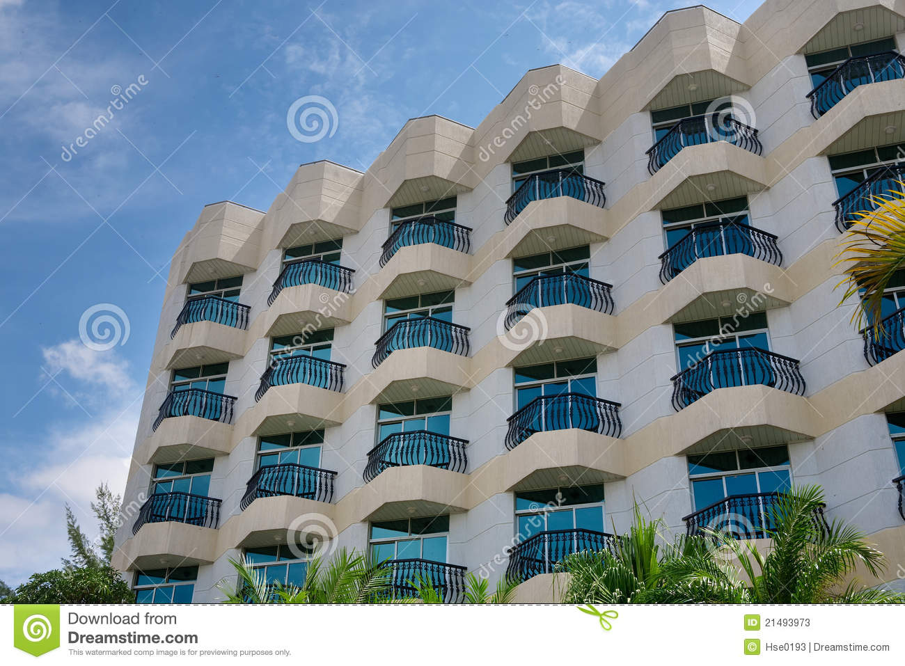 Hotel balcony stock photos image 21493973 for Hotels with balconies